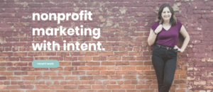 nonprofit marketing with intent